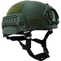 onetigris mich 2002aktionversion Táctica Casco ABS Casco para airsoft paintball, Armee Grün
