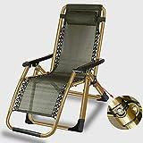 LCTCDD Support inclinable réglable pliable de patio de chaise de salon de gravité...