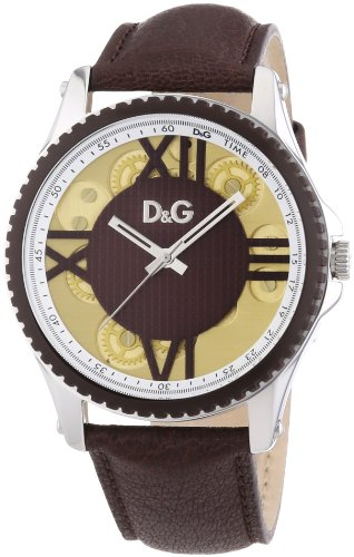 Dolce & Gabbana Reloj DW0774 marrón oscuro