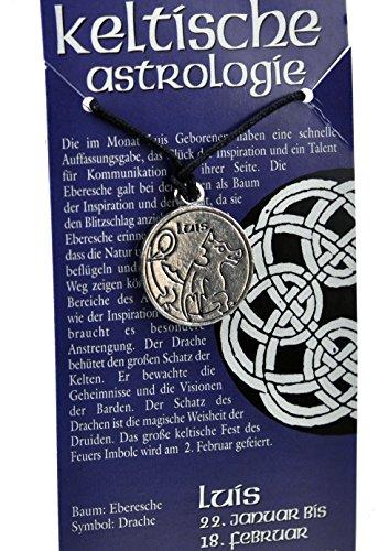 Keltische Astrologie Luis vom 22. Januar bis 18. Februar, von International Connection