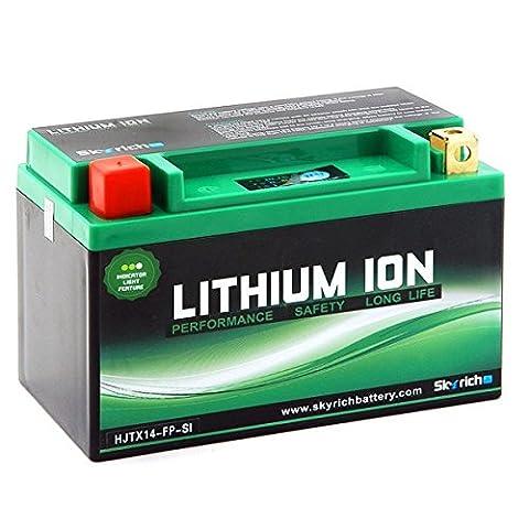 Batterie Lithium 12V HJT9B-FP-S (YT9B-BS) - 784gr