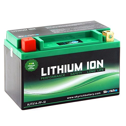 BATTERIA YTZ10S-BS / HJTZ10S-FP-S L 145mm W 87mm H 94mm YTZ10S-BS LITHIUM ION +-