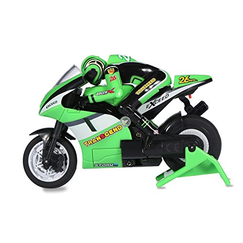 Children RC Bike Distant Management RC Off-Highway Racing Motor with USB Cable ( Colour : Inexperienced )