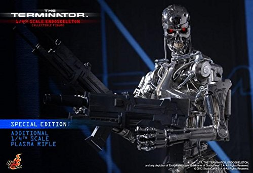 Hot Toys The Terminator - T-800 Endoskeleton Special Edition Ver. 1/4 Scale Figure 5