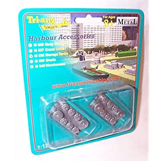 TRI-ANG triang minic M838 storage tanks 1:1200 scale diecast model