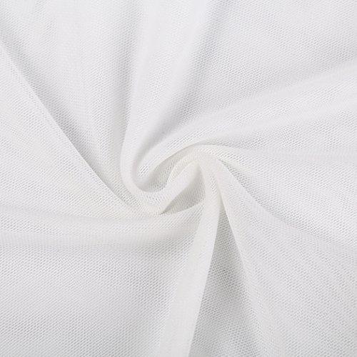 MIOIM®Femme Vêtement De Nuit Lace Perspective Harness Blanc crème