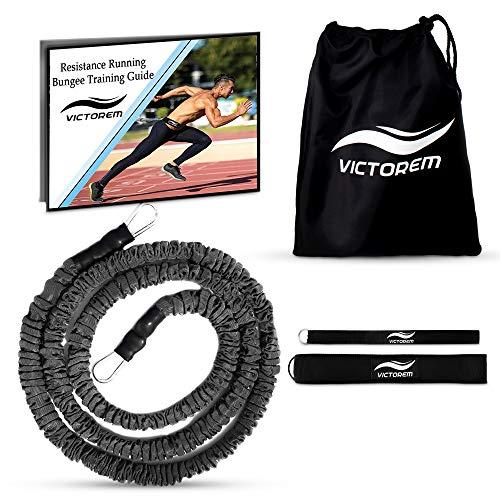 Victorem Corda Elastica Corsa Trattenuta - Elastico con Imbracatura - 2,5 m