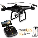 JJRC JJPRO GPS Drone, H68G RC Drone with 720P HD Camera Live Video