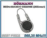 HÖRMANN HSD2-868-BS-C CHROME handsender 868,3Mhz 2-kanal fernbedienung. Top Qualität original Hörmann fernbedienung für den besten Preis!!!