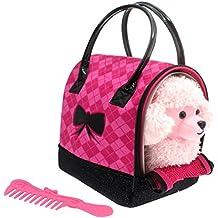 ColorBaby - Sparkle Girlz Perrito Caniche Rosa & transportín rosa ...