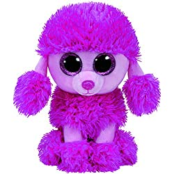TY - Beanie Boos Patsy, caniche, 15 cm, color rosa (United Labels Ibérica 37203TY)