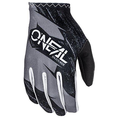O'Neal Matrix Kinder MX Handschuhe Burnout Motocross DH Downhill Enduro Offroad Mountain Bike, 0388R-1, Farbe Grau, Größe XL