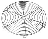 Dr. Oetker Torten-/Kuchenrost 32 cm Metall, Kuchengitter, zum Auskühlen, runder Kuchenrost, Menge: 1 Stück