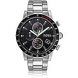 Hugo Boss 1513509Rafale Herren-Armbanduhr Silber 44mm Edelstahl