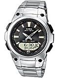 Casio Unisex-Armbanduhr Analog - Digital Quarz Edelstahl WVA-109HDE-1AVER