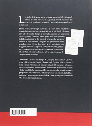 Storia facile. Unità didattiche semplificate per la Scuola elementare e media (Materiali di recupero e sostegno)