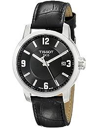 Tissot Herren-Armbanduhr Analog Quarz Leder T055.410.16.057.00