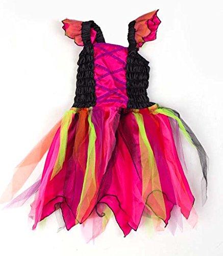 80 Kostüme (Hexenkostüm für Babys und Kleinkinder - Hexe Kostüm Baby - Karneval Kostüm Gr 80 - Lucy)