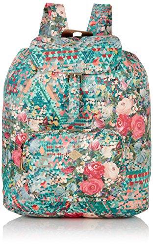 oilily-df-folding-classic-backpack-bolso-mochila-de-material-sintetico-para-mujer-color-verde-talla-