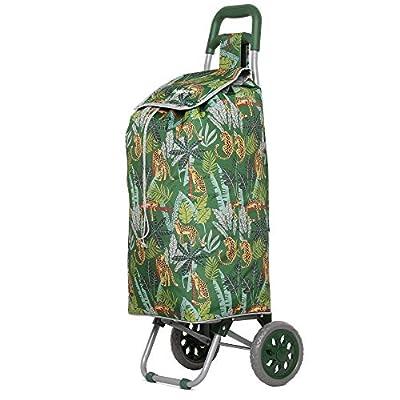 Hoppa Lightweight Shopping Trolley Folding 2 Wheel Large Capacity Shopper