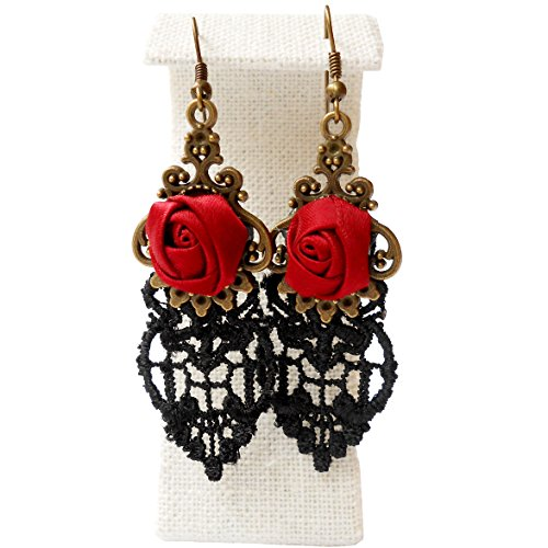 Red Earrings: Amazon.co.uk
