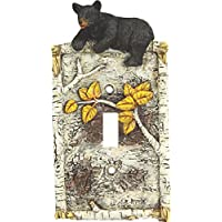 RiversEdge Products Rivers Edge Products, Birch Bear Single Switch Cover