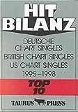 Hit Bilanz, Deutsche Chart Singles, British Chart Singles, US Chart Singles, Top 10, 1995-1998