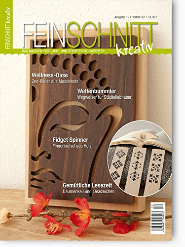 FEINSCHNITTkreativ Ausgabe 12 - Das Magazin für Laub- und Dekupiersägearbeiten (Herbst 2017) (Aus Diy Holz Halloween-dekoration)