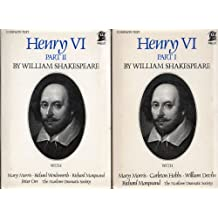 Henry VI by William Shakespeare (parts 1, 2 and 3) 6 cassettes. Complete text.