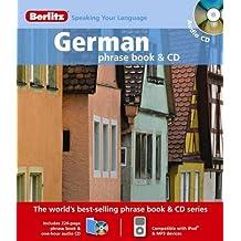 Berlitz: German Phrase Book & CD (Berlitz Phrase Book & CD)