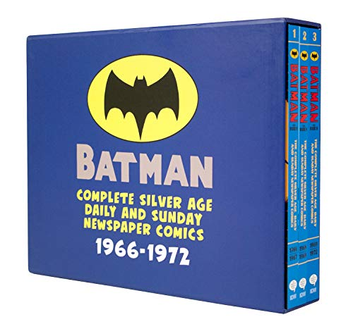 Batman: The Complete Silver Age Newspaper Comics Slipcase Set (Batman Newspaper Comics) (Age Silver Batman)