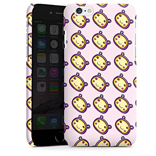 Apple iPhone X Silikon Hülle Case Schutzhülle Muster Kawaii Manga Premium Case matt