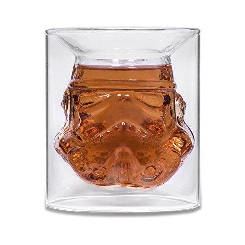 Decdeal Doppelwandige Kaffeeglas Teeglas 150ml Transparent