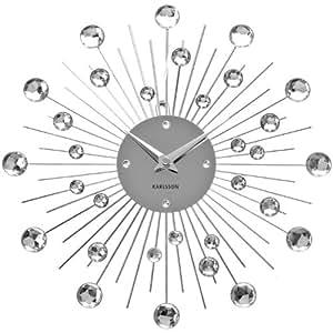 ATYLIA.COM Horloge murale Crystal KARLSSON