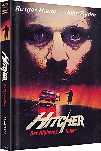 Hitcher - Der Highway Killer - Uncut - Mediabook (+ DVD) [Blu-ray]