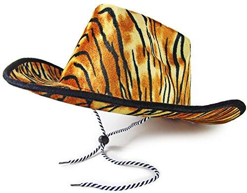 Seiler24 Cowboy Hut Animal Print - Tiger