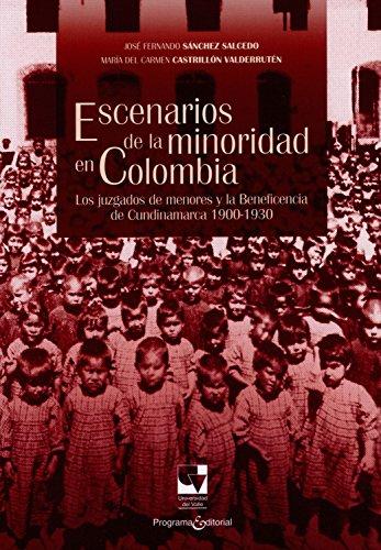 Descargar Libro Escenarios de la minoridad en Colombia: Los juzgados de menores y la Beneficencia de Cundinamarca 1900-1930 (Libros de investigación nº 2) de José Fernando Sánchez S