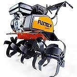 FUXTEC Benzin Gartenfräse FX-AF1212 Motorhacke Ackerfräse Bodenfräse Bodenhacke Kultivator mit