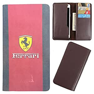 DooDa - For Microsoft Lumia 640 LTE PU Leather Designer Fashionable Fancy Case Cover Pouch With Card & Cash Slots & Smooth Inner Velvet