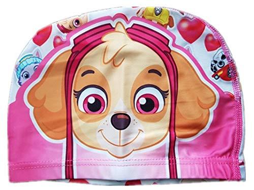 ChenStarUK beliebten Cartoon-Bunt Kinder Schwimmkappe, für Jungen oder Mädchen Tinkerbell Einheitsgröße