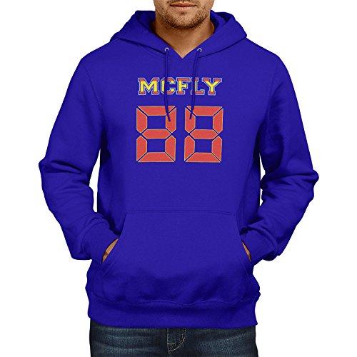 TEXLAB - McFly 88 - Herren Kapuzenpullover, Größe M, (Tannen Kostüme Biff)