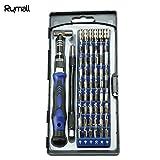Rymall 58 in 1 Magnet-Schraubendreher-Set, 54 Magnet-Treiber-Kit und 1 Schraubendreher Zubehör-Kit, für Handy, Tablet, PC, MacBook, Elektronik Reparatur Tool Kit