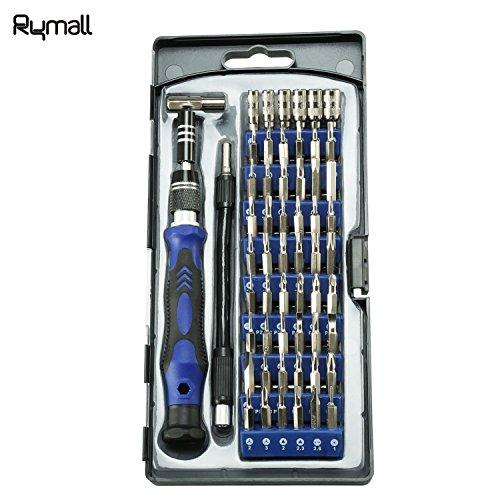Preisvergleich Produktbild Rymall 58 in 1 Magnet-Schraubendreher-Set, 54 Magnet-Treiber-Kit und 1 Schraubendreher Zubehör-Kit, für Handy, Tablet, PC, MacBook, Elektronik Reparatur Tool Kit