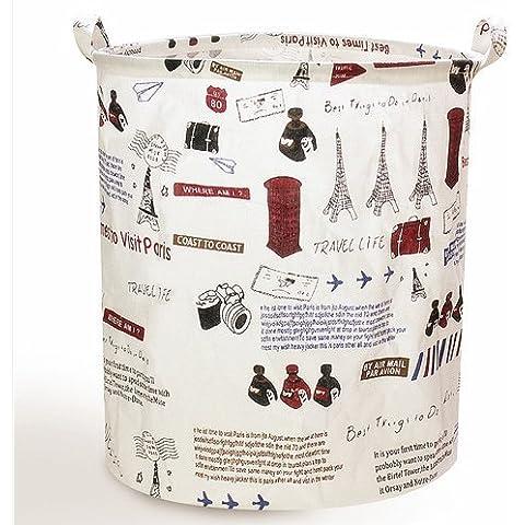 Bolsa de la Colada Cesto Colada Plegable Cesto de la Ropa Bolsa para ropa sucia almacenamiento ropa almacenamiento juguetes cestos