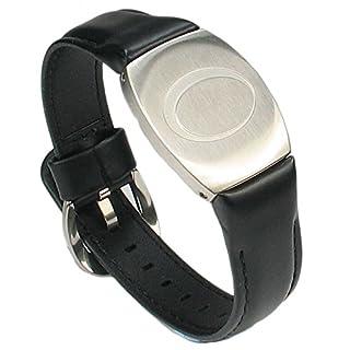 MPS® Augusta - Ideal Gift for Men Golfer - Mega Strength Magnet Magnetic Bracelet - Leather Strap