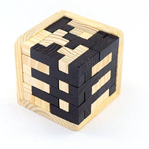 Joyeee® Cubo 3D Rompecabezas de Madera Juego Puzzle - #5