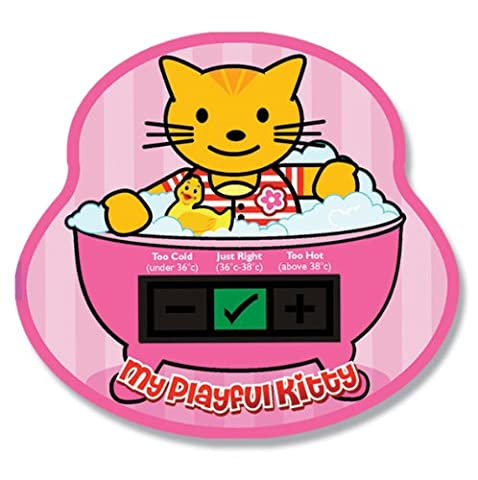 My Playful Kitty Baby Bath Thermometer