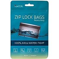 Noaks Bag - Bolsa Seca, Embalaje Protector, Bolsa enstanca,100% impermeable hasta 10 m, protección contra olores, apropiado para alimentos, XS, 5 piezas