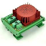 ELECTRONICS-SALON P 115VAC, S 15VAC, 15VA DIN Rail Mount toroidal transformador de potencia módulo.