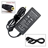 SUNYEAR 19V 3.42A 65W Laptop Notebook Chargeur AC Adapter pour ACER Aspire 5732 5732G 5732Z 5732ZG 5733 5733Z 5735 5738 5742G 7750 5100 5101 5920G 8920 8930 3750 5253 5742 eMachines E-630 avec Câble de Charge